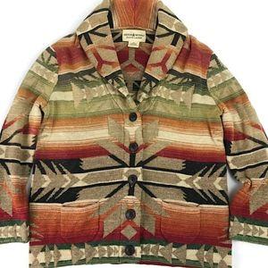 Denim & Supply Ralph Lauren Aztec Blazer Cardigan